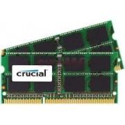 Memorie Laptop Crucial SO-DIMM DDR3, 2x4GB, 1333MHz, CL9, pentru Mac