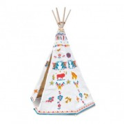 Vilac Indian Teepee, Ethnic Printing