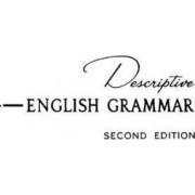 Descriptive English Grammar by Susan Emolyn Harman