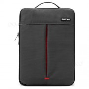 POFOKO Stylish 11.6 inch Portable One Shoulder Quality Nylon Fabric Waterproof Laptop Bag for Laptop Notebook(Black)