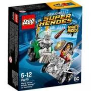 Конструктор Лего Супер Хироус - Mighty Micros: Жената чудо срещу Думсдей - LEGO Super Heroes, 76070