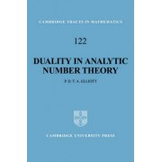 Duality in Analytic Number Theory by Peter D.T.A. Elliott