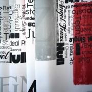 Dimout Ontario, modern mintás, sötétítő függöny, darabok