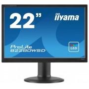 "IIYAMA ProLite B2280WSD-1 22"" Tn Led Lcd Dvi Monitor"