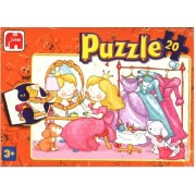 Prince and Princes in Front of the Mirror 20pc Jigsaw Puzzle - Jumbo 272C