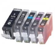Pack 5 cartouches pour imprimante Canon
