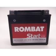 Baterie moto, scuter, atv Rombat 12V - 18Ah 180A, AGM Gel RBX20L-BS