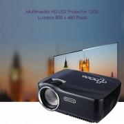 Proyector Projector GP-70UP 600:1 Android 4.4 Full HD 1200 Lumens Multi-language EU PLUG -Negro