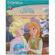 Disney. Invat sa citesc. Regatul de gheata - nivelul I - O zi de vara perfecta pentru Olaf