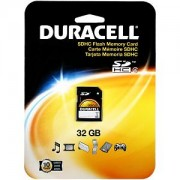 Duracell 32GB Secure Digital Card (DU-SD-32GB-C)