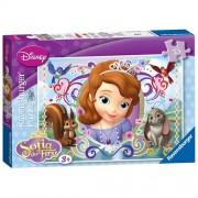 Puzzle Printesa Sofia, 35 piese, RAVENSBURGER Puzzle Copii