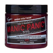 HIGH VOLTAGE CLASSIC SEMI-PERMANENT HAIR COLOUR (Infra Red) (4oz) 118ml
