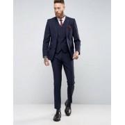 Gianni Feraud Heritage Premium Wool Birdseye Waistcoat - Navy