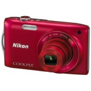 Digitalni fotoaparat COOLPIX S3200 Crveni NIKON