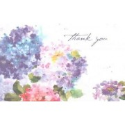 Hydrangeas Thank You Notes (Stationery, Note Cards, Boxed Cards) by Peter Pauper Press
