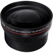 BiG DIGITAL 2.2X Telephoto Conversion Lens for Nikon 3000 D3100 D3200 D3300 D5000 D5100 D5200 D5300 D7000 D7100 DF D3 D3S D3X D4 D40 D40x D50 D60 D70 D70s D80 D90 D100 D200 D300 D600 D610 D700 D750 D800 D800E D810 Digital SLR Cameras with a 18-55mm 55-200