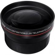 BiG DIGITAL 2.2X Telephoto Conversion Lens for Canon EOS Rebel SL1 T5i T4i T3 T3i T1i T2i XSI XS XTI XT 1D C 70D 60D 60Da 50D 40D 30D 20D 10D 5D Mark II III 1D X 1D C 1D Mark IV 1D(s)Mark III 1D(s)Mark II(N) 5D Mark 2 5D Mark 3 7D 6D Digital SLR Cameras w