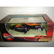 2004 100% Hot Wheels Preferred Classic Bodies Type 57C Bugatti Cabriolet & 1932/JS Duesenberg 2-Car Box Set by Mattel
