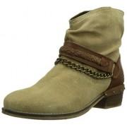 Dockers 354040-141039 botas de caño bajo de cuero mujer