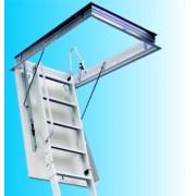 Metalne tavanske stepenice Elegant