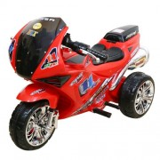 WHEEL POWER BABY BATTERY OPERATED RIDE ON BIKE 2131 RED