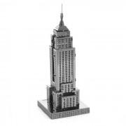 rompecabezas de 3D ??DIY monta Empire State Building modelo de juguete - plata