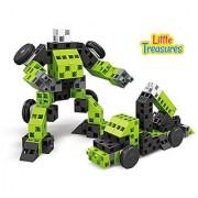 Super Truck Transformer Brick Click Building block 71 pieces smart toy set for kids education playtime
