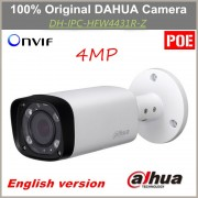 English POE Dahua IP Camera IPC-HFW4431R-Z Varifocal Motorized Lens IR distance 80m 4MP Camera Replacement for IPC-HFW4300R-Z