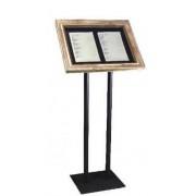 Leggio a cassetto con plexiglass h2430