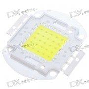 25W 2000LM Cool White Light LED Metal Plate Module (16V~18V)