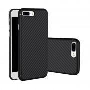 Husa Iphone 7 Plus Nillkin Synthetic Carbon Fiber cu placuta pentru suport auto magnetic