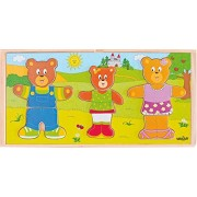 Woodyland Bear Family Dress-Up Puzzle