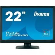 Monitor iiyama ProLite B2280WSD, 22'', negru