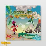 Guestbook (caiet de amintiri) pentru botez cu Peter Pan