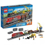 LEGO City - 60098 - Jeu De Construction - Le Train De Marchandises