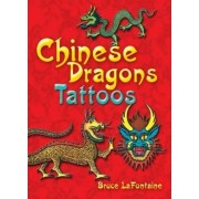Chinese Dragons Tattoo by Bruce LaFontaine