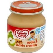 Cow & Gate Apple & Cookie Crumble 6Mth + (125g) (Confezione da 6)