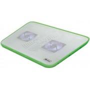 "Cooler Laptop VAKOSS LF-2468WG 17"" (Alb-Verde)"