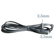 NTR 7691 2,5mm sztereo jack dugó - 3,5mm sztereo jack aljzat adapter kábel 1,5m