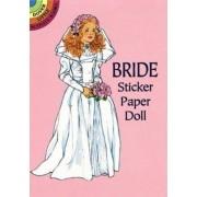 Bride Sticker Paper Doll by Barbara Steadman