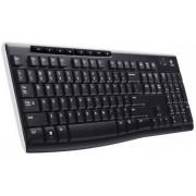 TASTATURA Logitech K270 Wireless Keyboard, USB, black (920-003738)