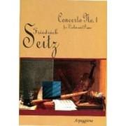 Concerto No.1 For Violon And Piano - Frideich Seitz