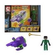 Lego Jakks Pacific Art Asylum C3 Dc Batman the Riddler Mini Flyer 44 Pieces You Build It