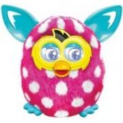 Hasbro Peluche animée Furby électronique - Boom Sweet - Pois blancs