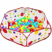EVINIS Playpen Ball Pit 39.4-inch by 19.7-Inch with Zippered Storage Bag Foldable Children Kids Play Tent Ocean Ball Pool BOBO Ball Pit Playhouse Baby Gift Kids Ball Pit Pool Play Tent