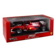 Hotwheels - T6287 - Voiture Miniature - Racing (Mattel) - Ferrari F10 / F1 2010 - F. Alonso - Echelle 1/18