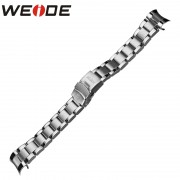 WEIDE Watchbands Solid Stainless Steel Folding Clasp with Safety 21cm Watch Strap WH1103 WH1104 WH2309 WH5203 Band Width 22mm
