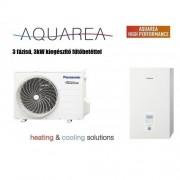 Panasonic KIT-WC12H9E8 Aquarea H 3 fázisú levegő-víz hőszivattyú Hűtő-Fűtő 12 kW
