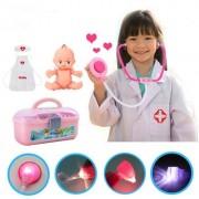 Olali@ - Pretend Play Boîte À Outils Médicaux Kit Médecin Cosplay Doctor Toy