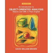 An Introduction to Object-oriented Analysis by David William Brown
